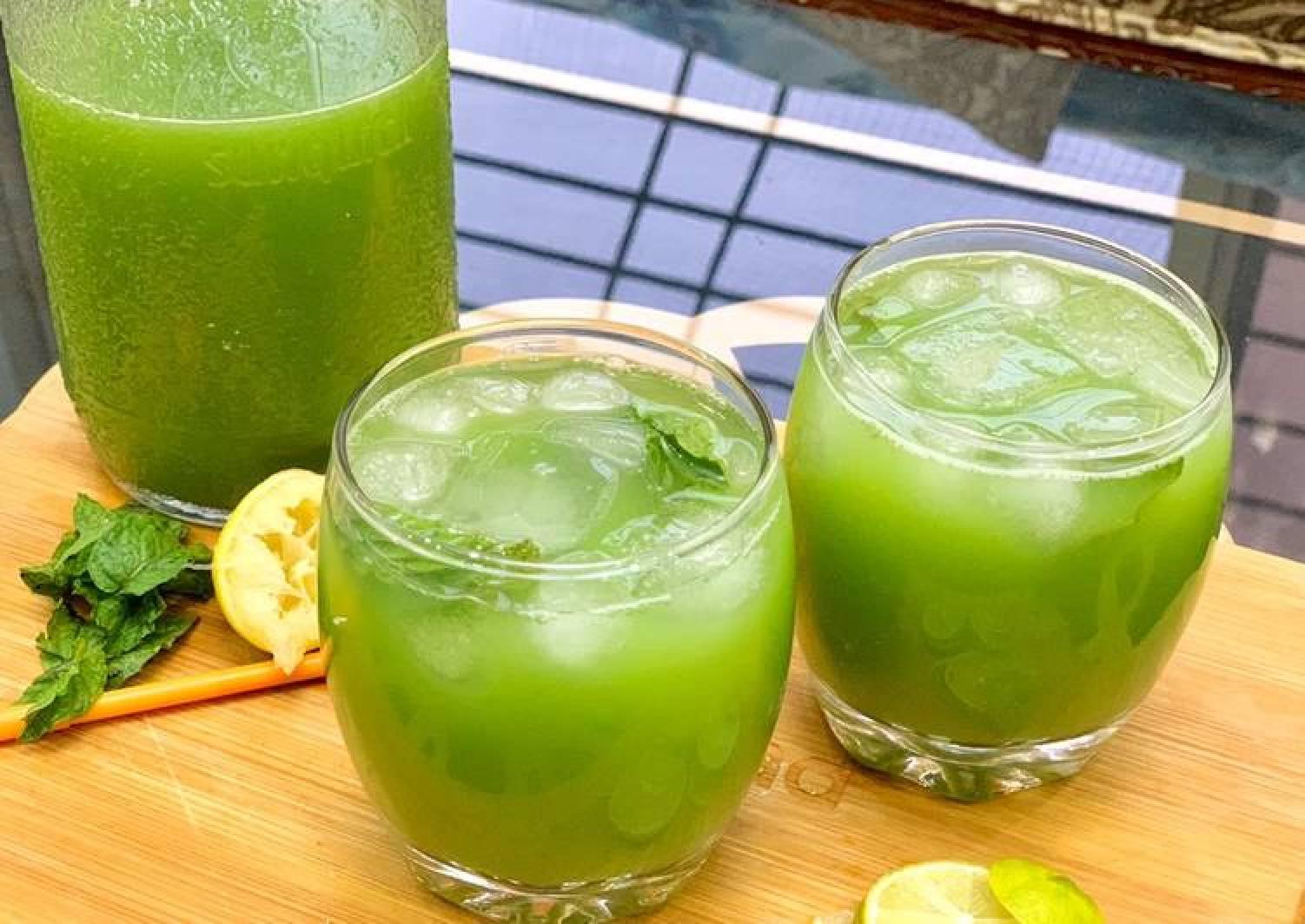 Cucumber Ginger Mint Augua-fresca
