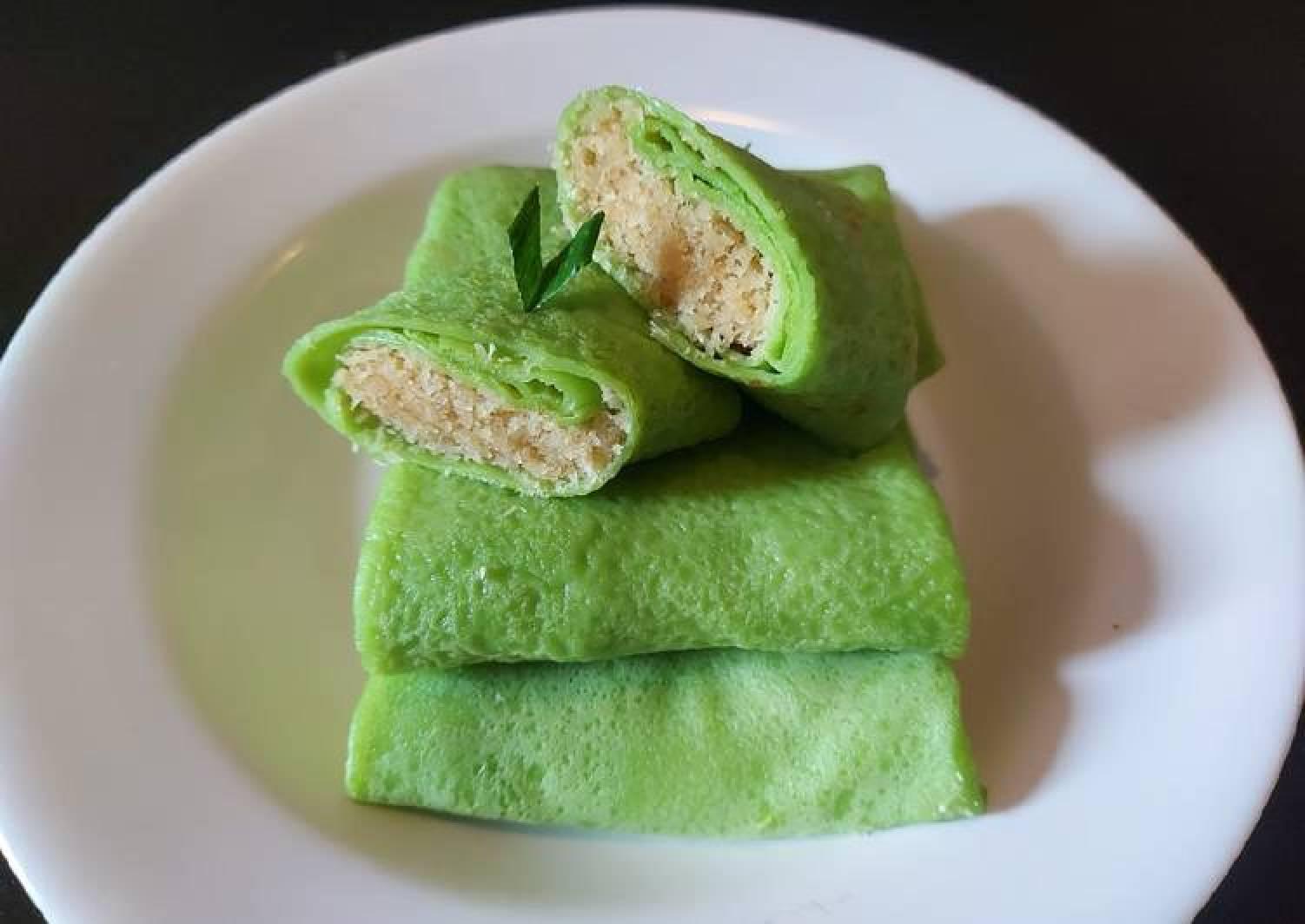 Resep Dadar Gulung Isi Kelapa Sempurna Best Recipes
