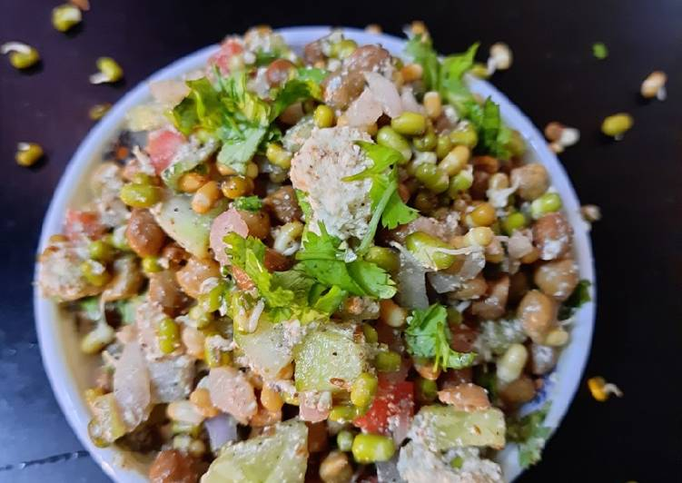 Recipe of Favorite Protein sprouts salad