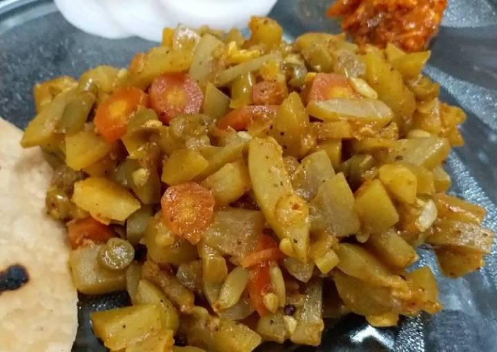 Mixed Vegetable Sabzi
