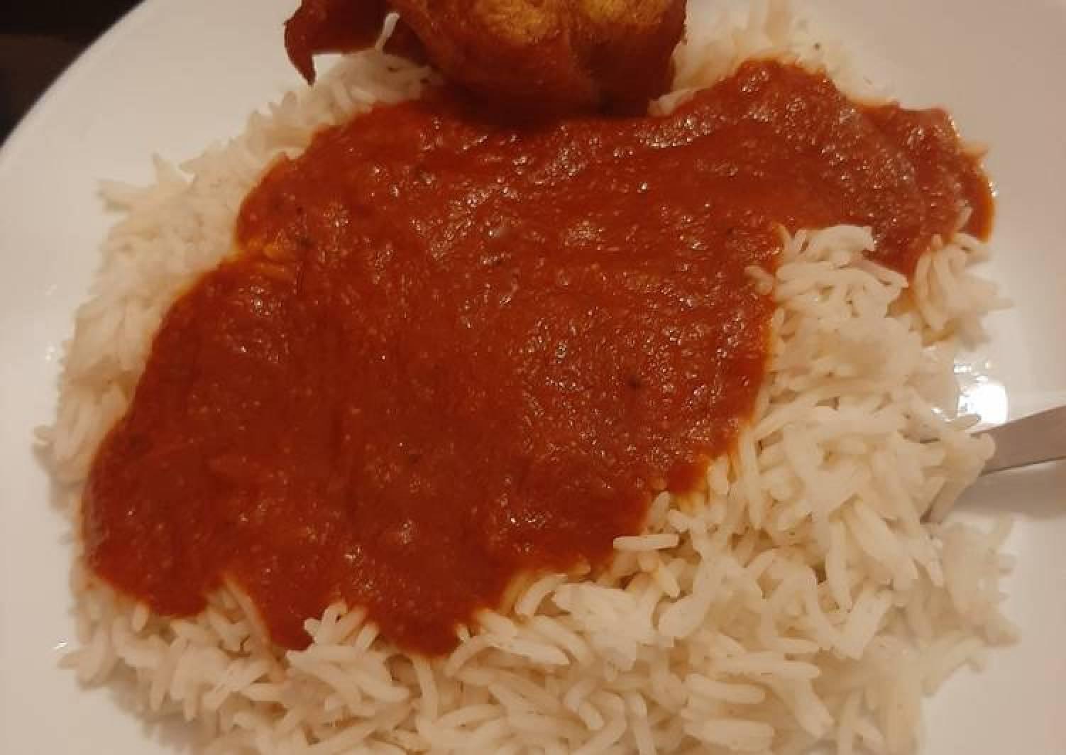 Nigerian Rice and Chicken Stew