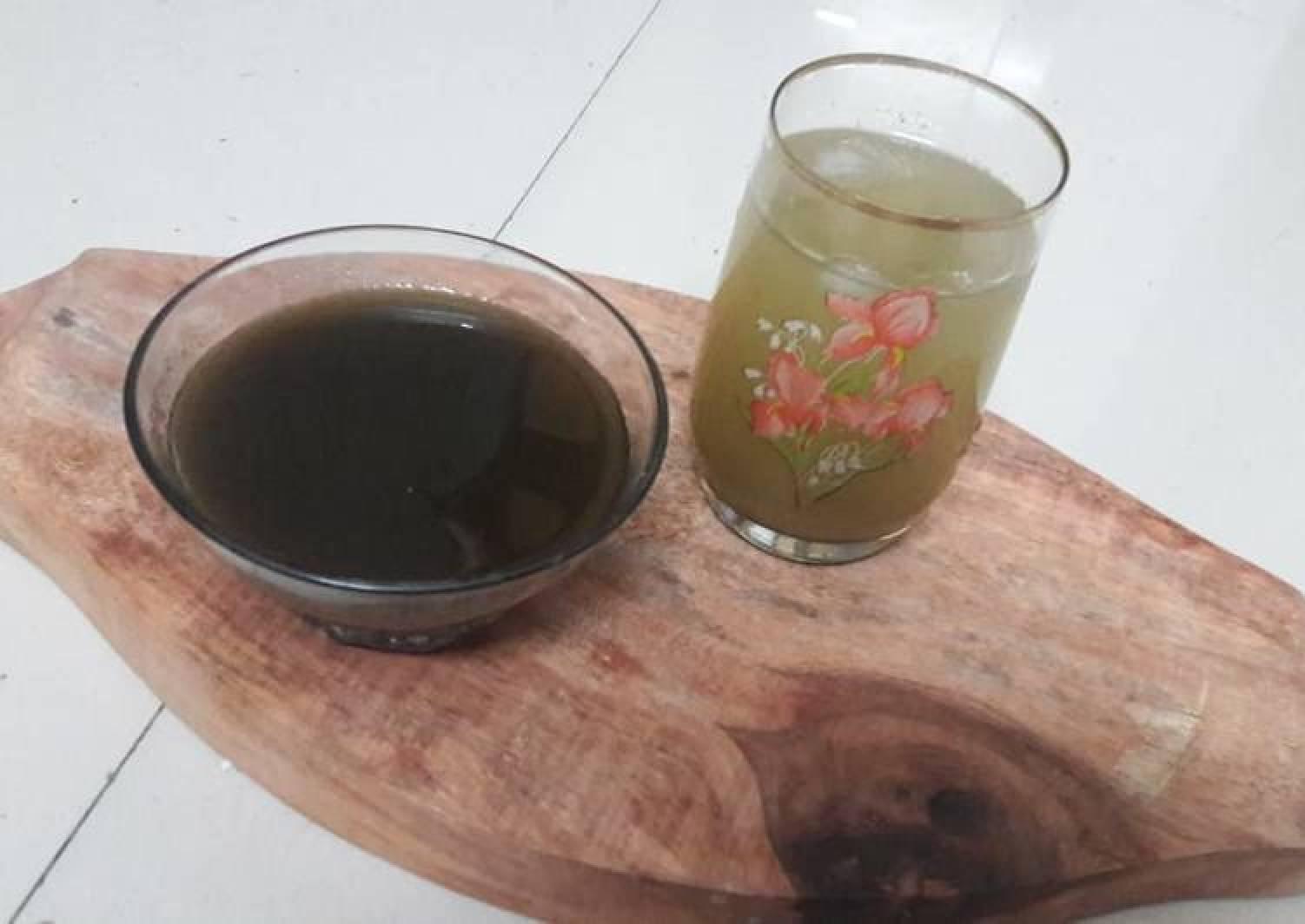 Saunf Sharbat (fennel seeds drink)