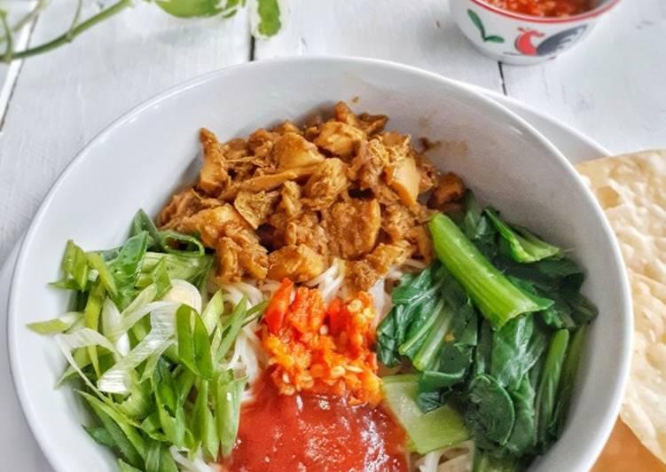 Resep Mie Ayam Homemade (Ala Abang-abang), Bisa Manjain Lidah