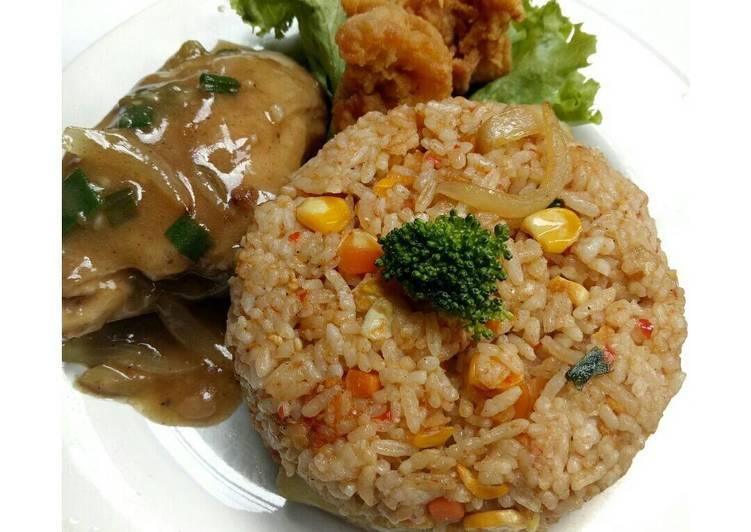 Nasi Goreng Ayam Hainan Jawa by Me 🙅