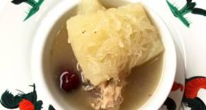Shark Fin Melon Pork Soup