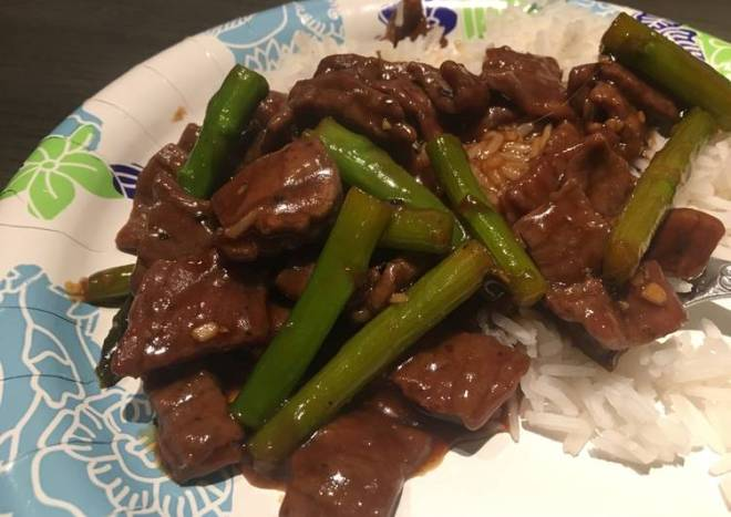 Asian Beef and Asparagus