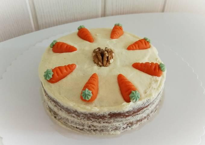 Schritt für Schritt Anleitung Um Jamie Oliver Veganer Karottenkuchen zuzubereiten