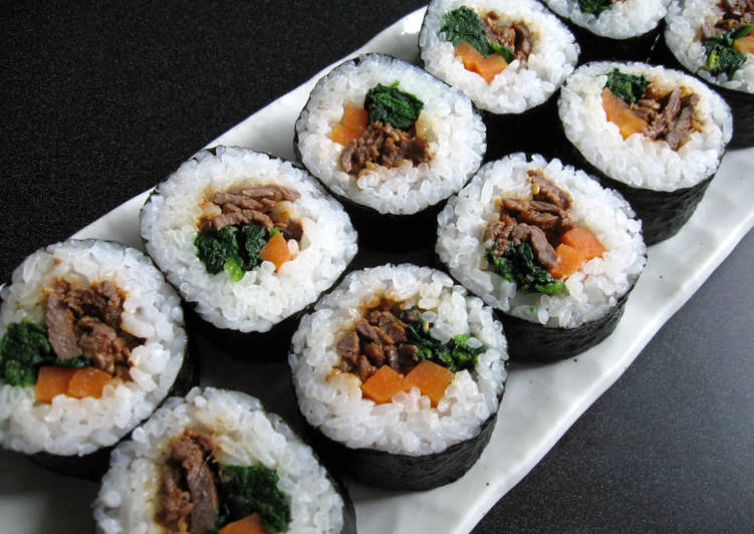 Yakiniku Sushi Rolls