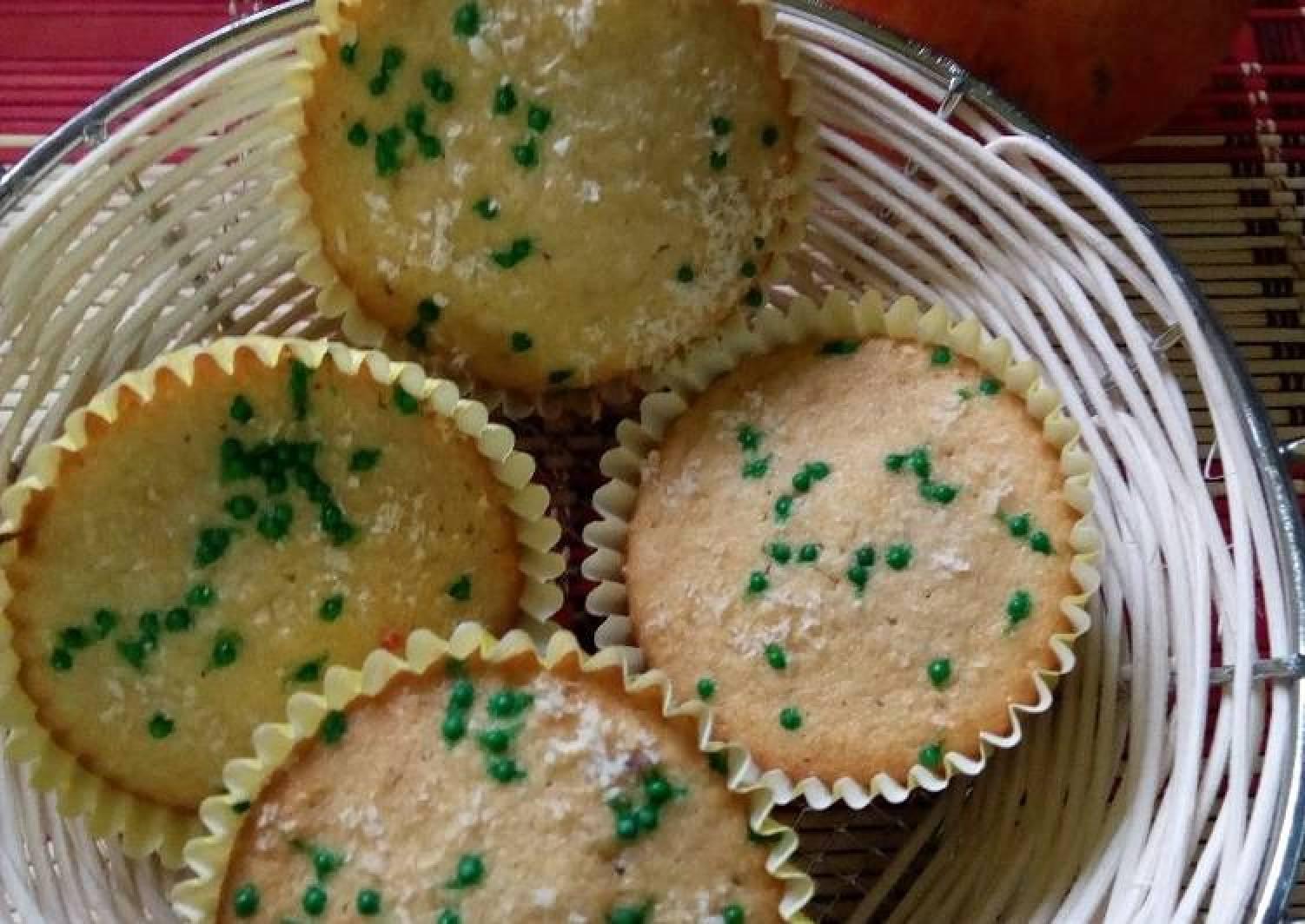 Mango Flavour Cupcakes#4weekschallenge