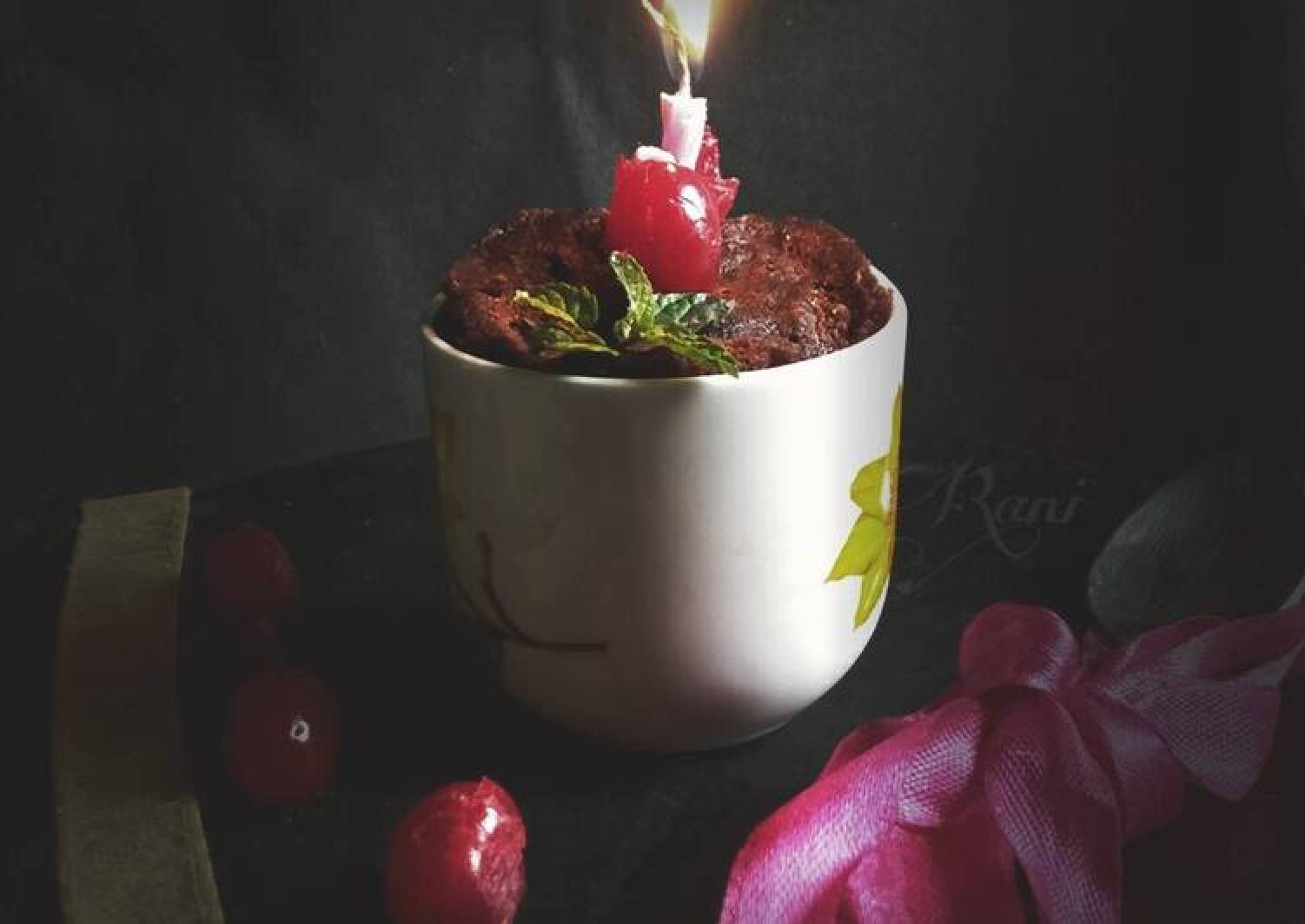 Microwave Oreo Cup Cake