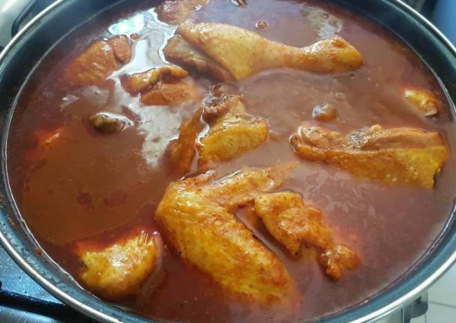 Birria de pollo