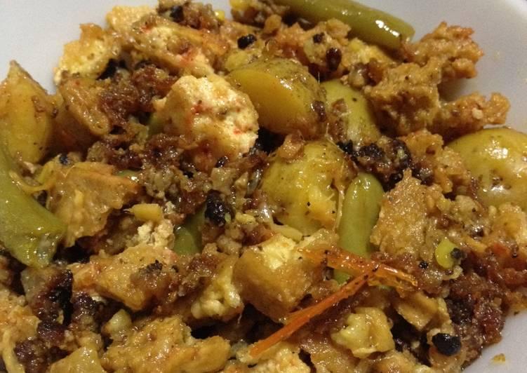Crispy Tofu Curry - Leftover Ideas