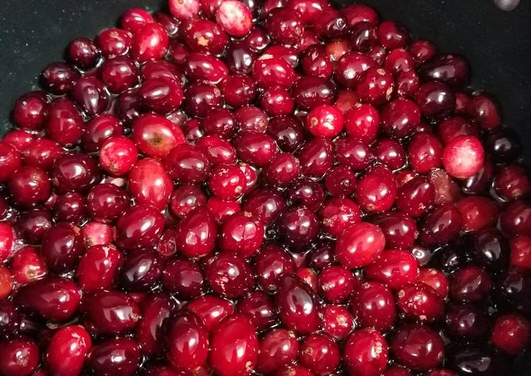 Old Fashioned cranberry sauce