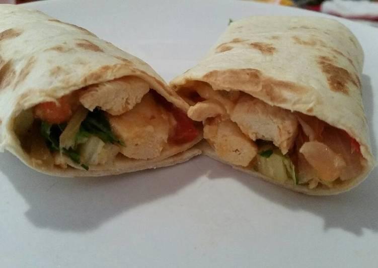 Simple Way to Prepare Favorite Easy chicken burritos