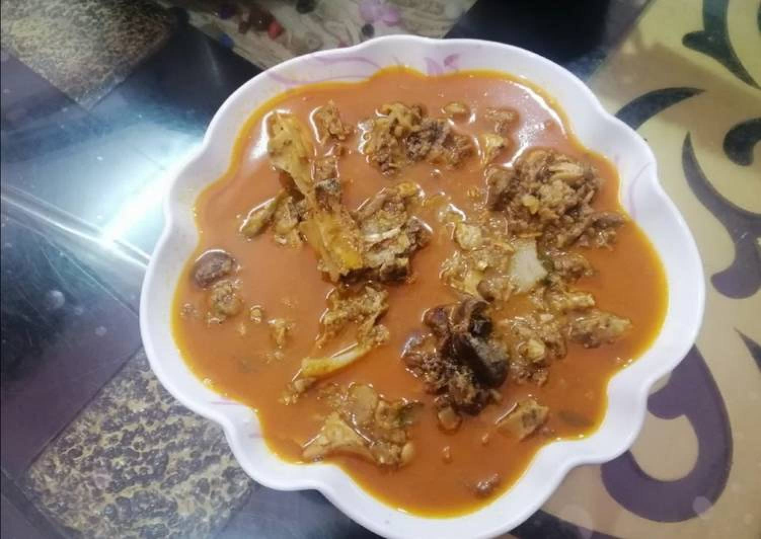 Hyderabadi Sire ka Salan/Goat Head Curry