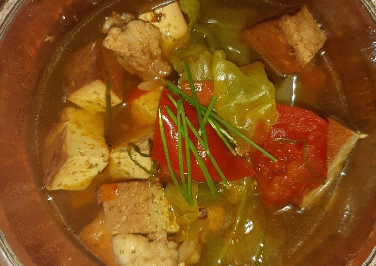 Smoked Tahu (Tofu) Soup 2.0