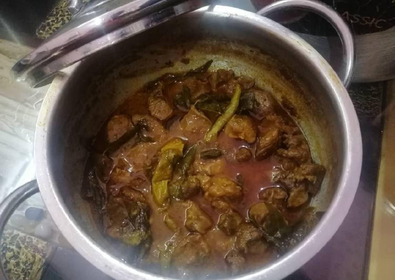 Hyderabadi Mutton Masala