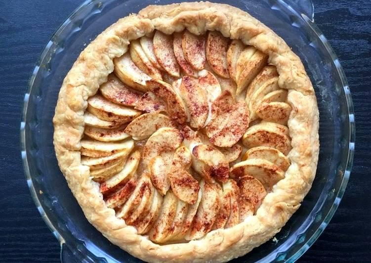 Easy Apple Pie Tart