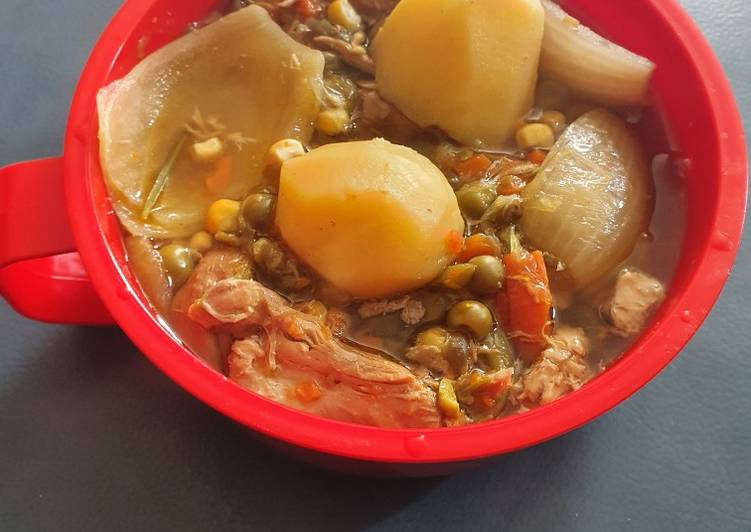 Recipe of Ultimate Herb Chicken Stew