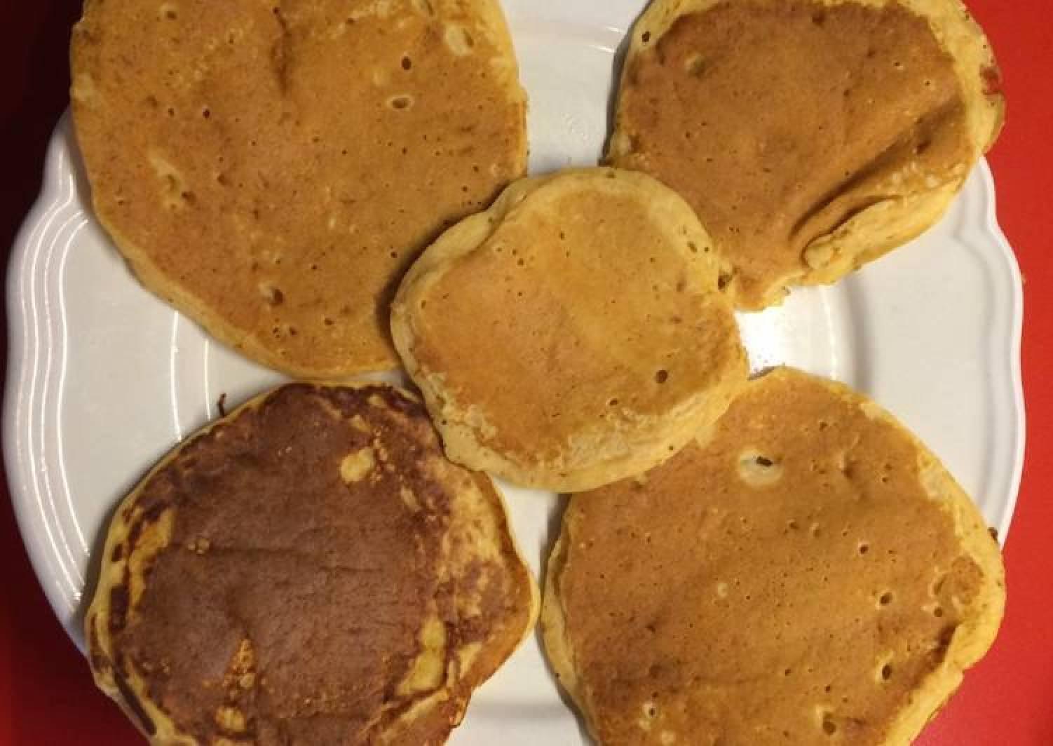 Extra moist pancakes