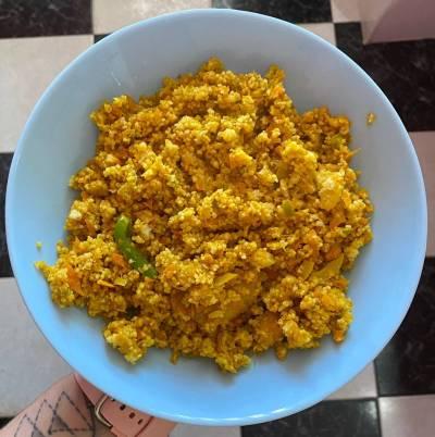 Receta de couscous con verduras al curry