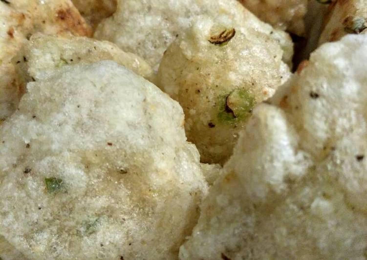 Crunchy Fried Tapioca