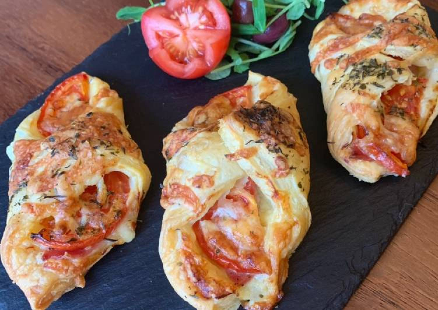 Bacon puff pastry (Conwy Puffs)