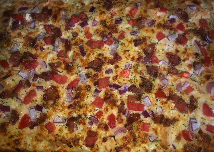 Chicken club pizza EASY