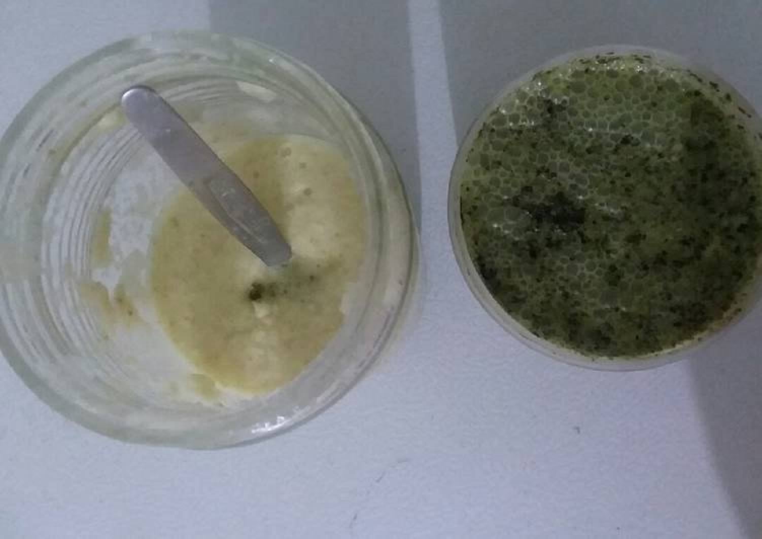 Ginger garlic paste,And Green chillies, Mints Coriander leave