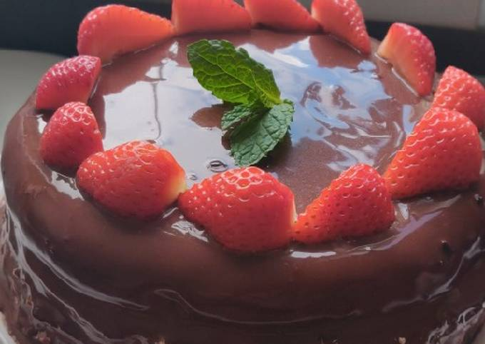 Step-by-Step Guide to Make Jamie Oliver Keto Strawberries and Chocolate Cake