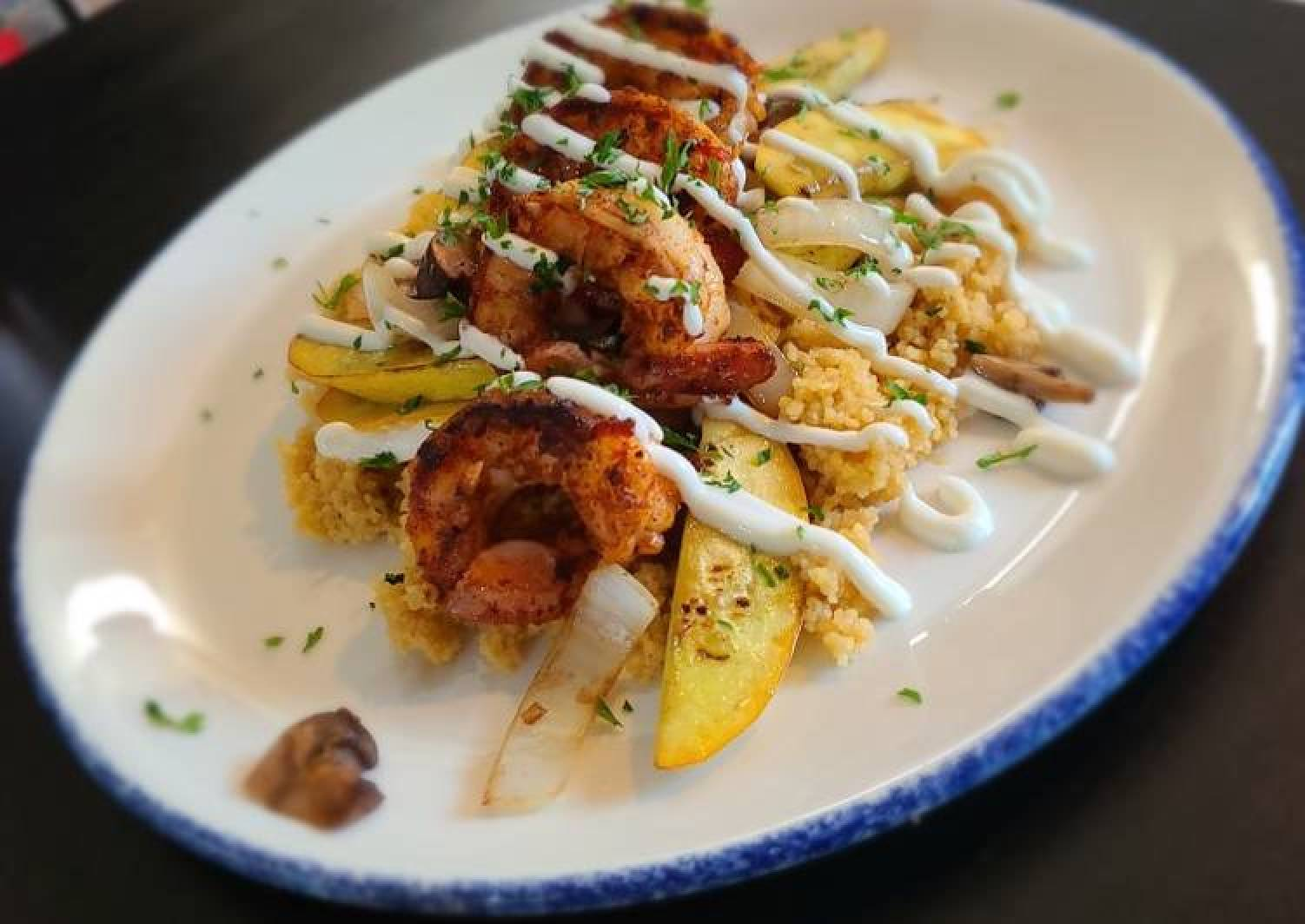 Moroccan Shrimp and Cous²