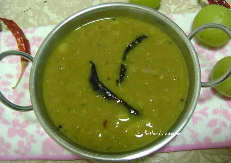 Amloki Dal (Gooseberry Dal - Bengali Style)