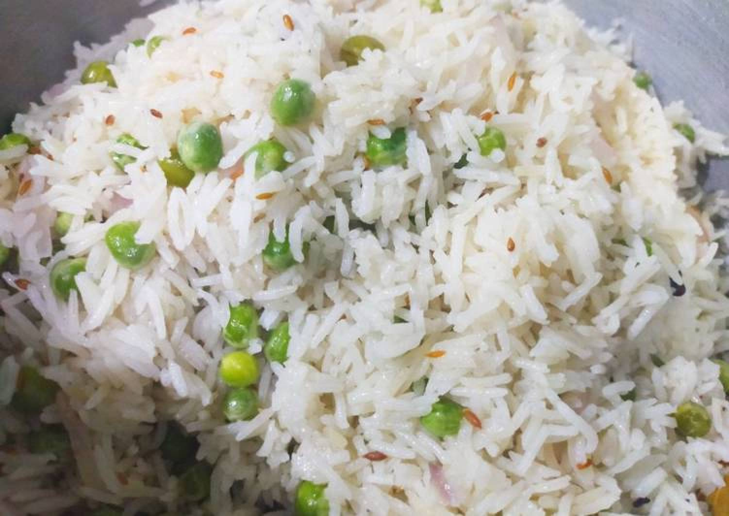 Easy and delicious matar pulao/ Peas rice !