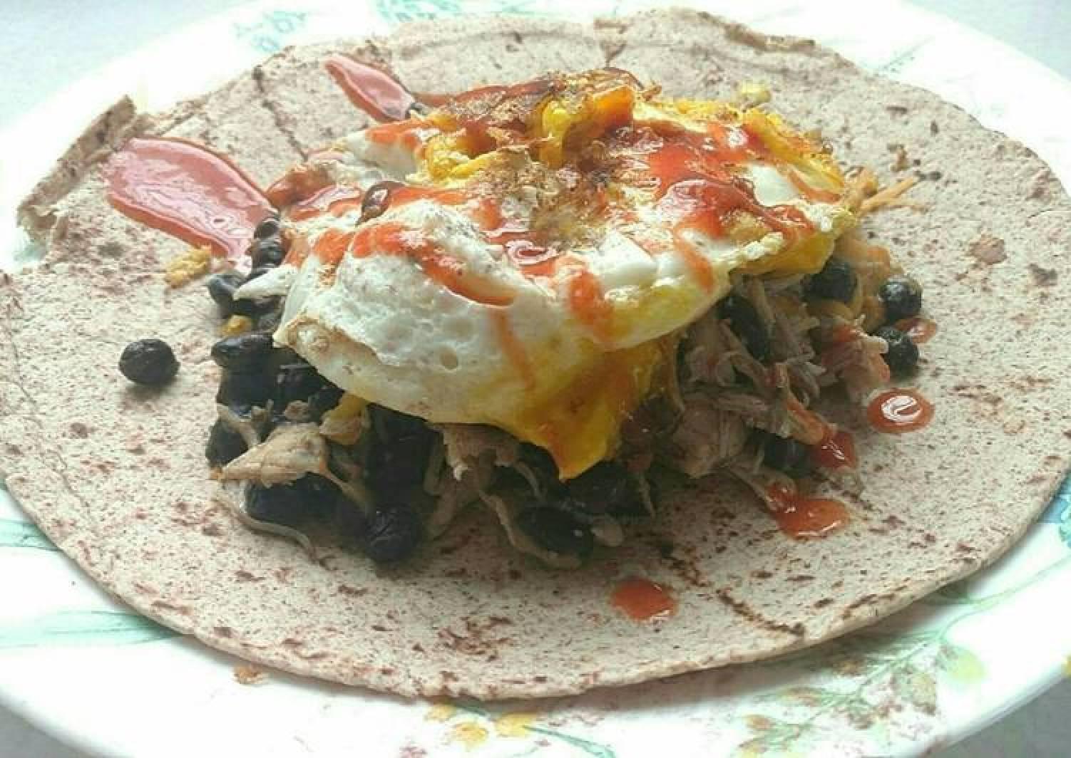 Super Breakfast Burrito