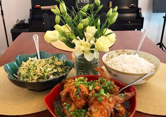 Recipe of Tasteful Thai Sweet Chili, Soy Sauce & Citrus Chicken