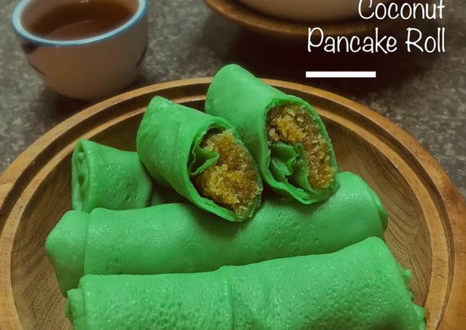 Coconut Pancake Roll
