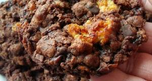 Vickys Double Chocolate Honeycomb Cookies GF DF EF SF NF