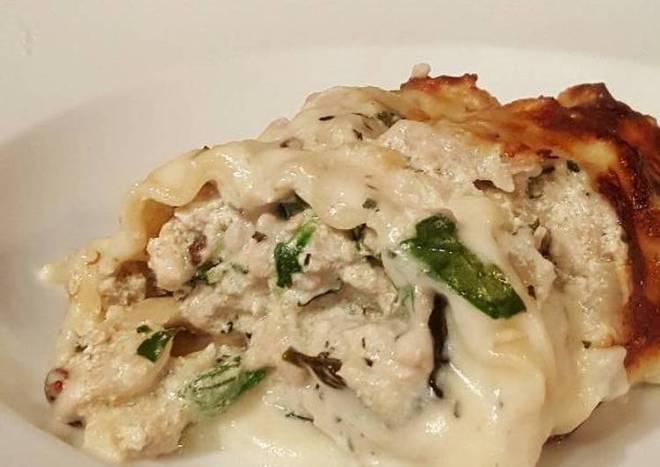 Creamy Lasagna Rolls