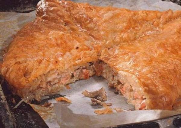 Рыбный пирог с рисом и яйцом - пошаговый рецепт с фото ...