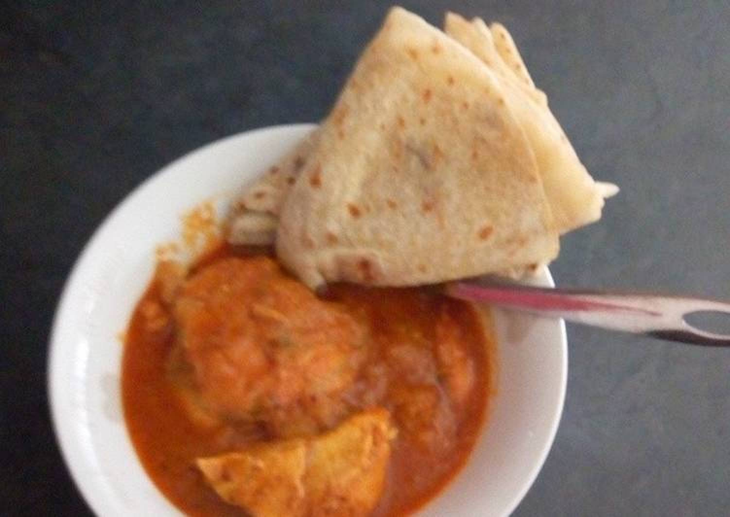 Butter Chicken and Roti