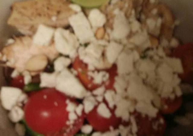 Red Quinoa Chicken Bowl