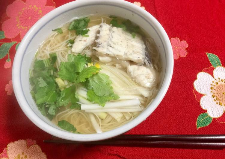 Easiest Way to Prepare Speedy Japanese Red Snapper Soup Noodle