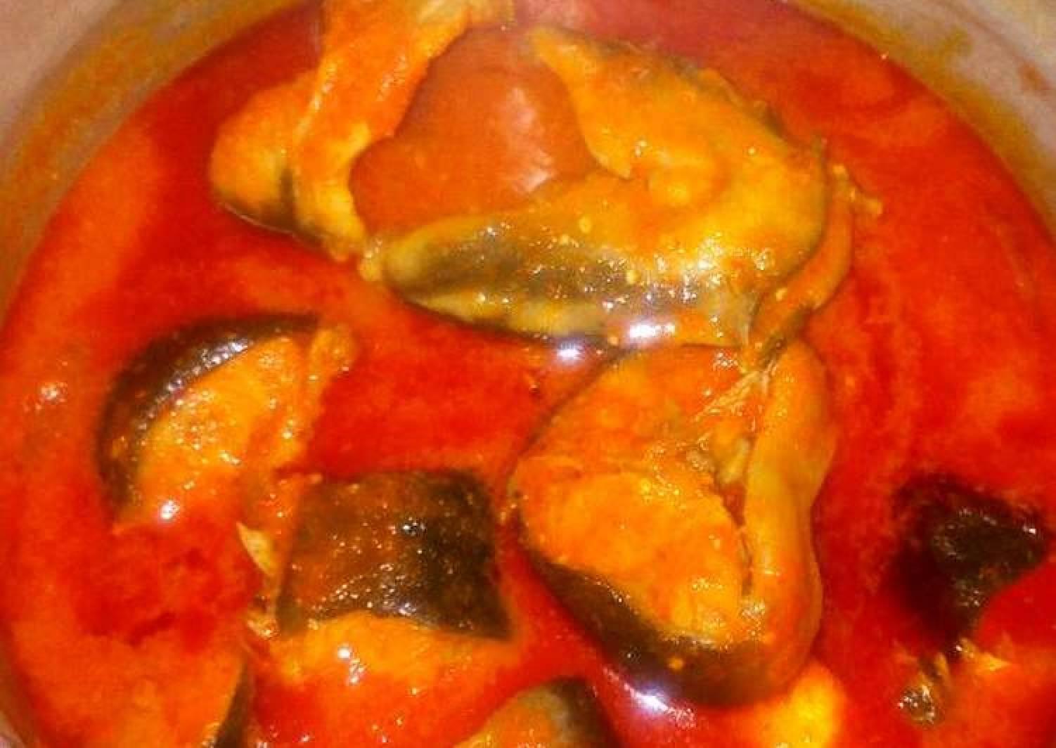 Fresh Catfish soup..good with ewedu plus swallow or white rice