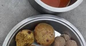 Rajasthani Daal Baati
