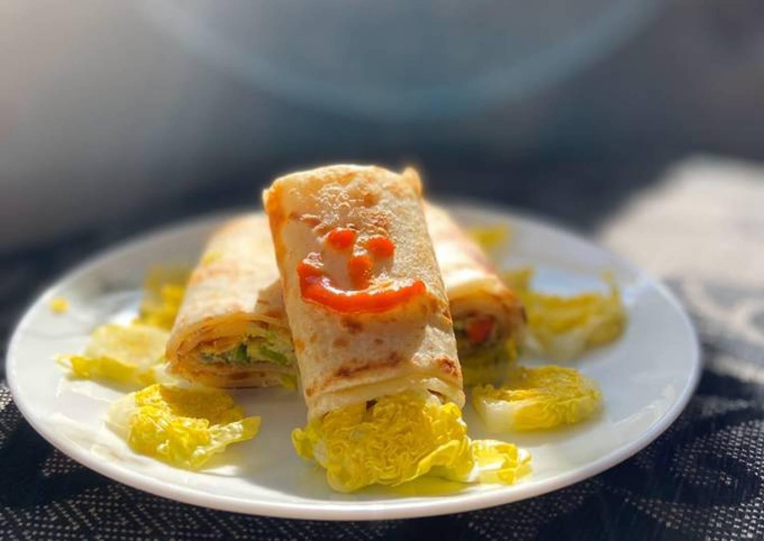 Paratha Egg Roll