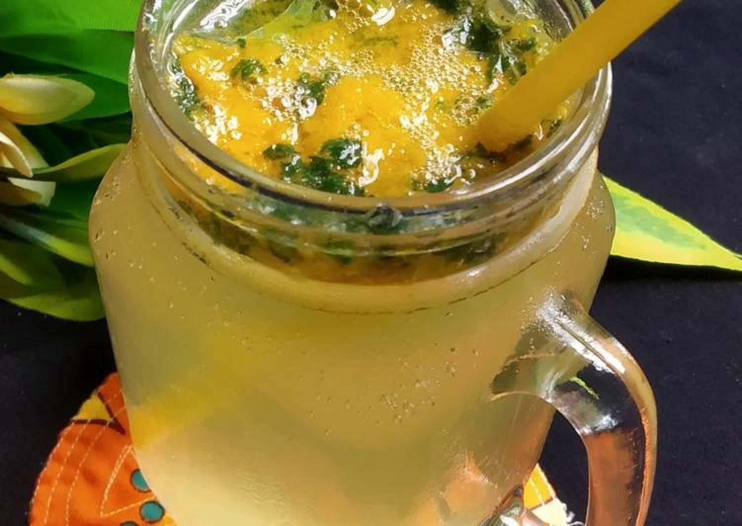 Mango mint lemonade 🍋🥂🥤🍹
