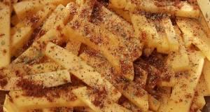 Butternut Squash baked fries