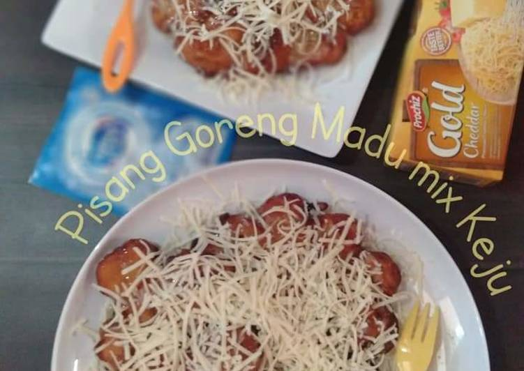 Pisang Goreng Madu mix Keju