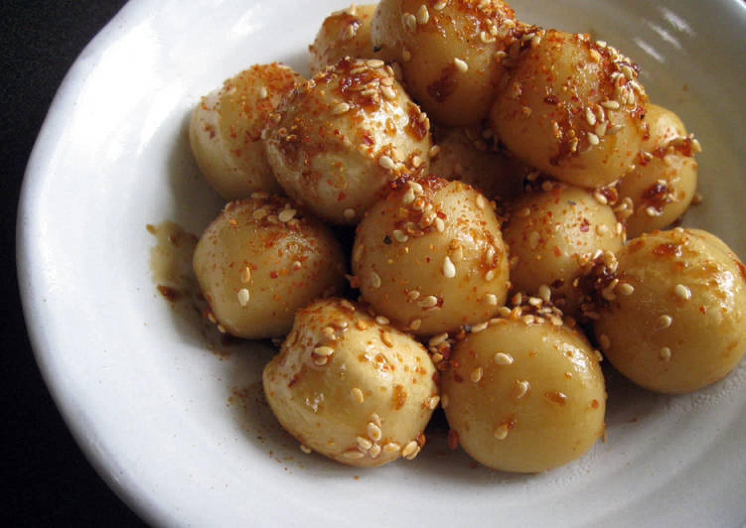 Teriyaki Fish Balls