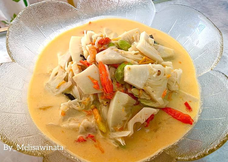 Lodeh tewel / nangka muda